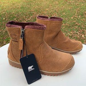 SOREL Meadow Zip Elk Waterproof Boots NWT DISPLAY